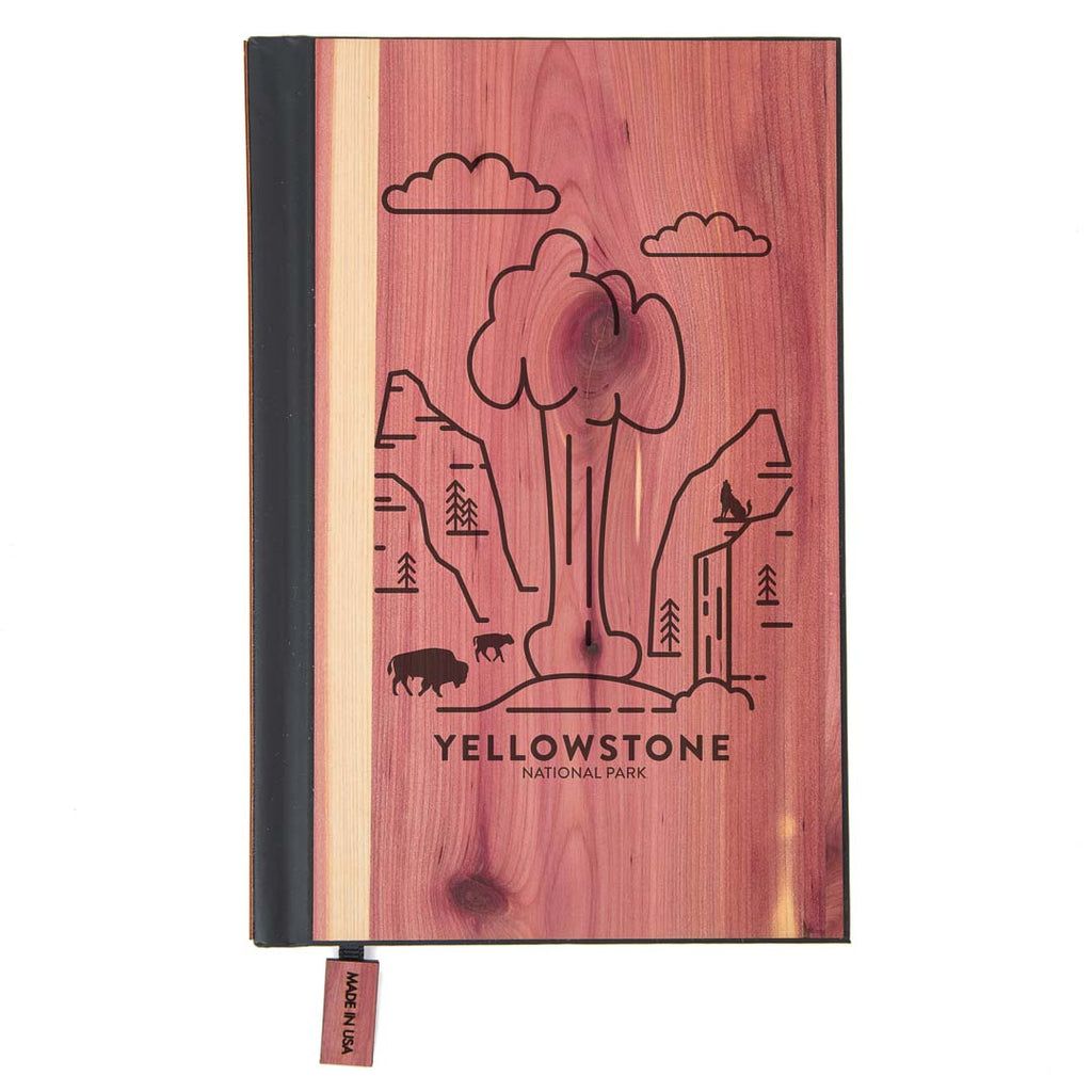 Yellowstone National Park Wood Classic Journal