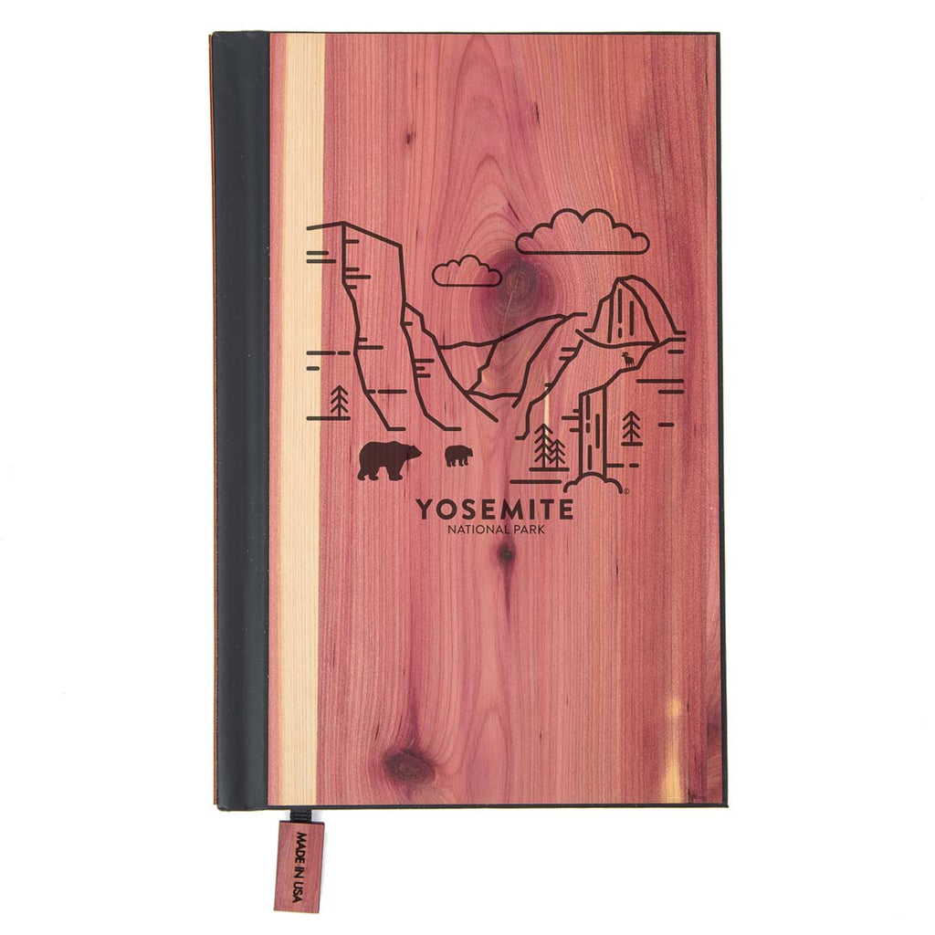 Yosemite National Park Wood Classic Journal