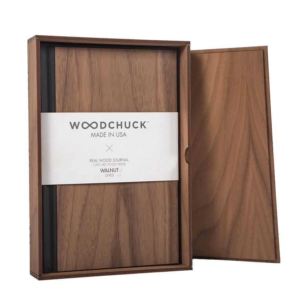 Wood Journal Box + Journal - Woodchuck USA