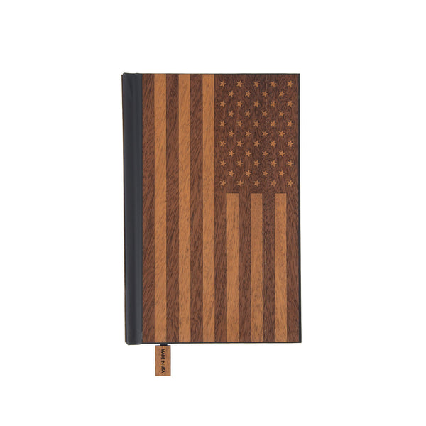 Wood Pocket Journal | American Edition