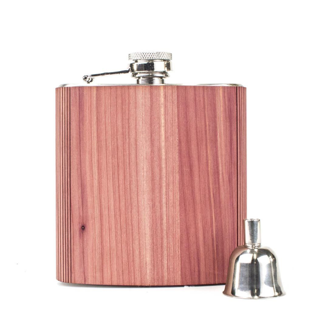 Wood Flask 6 oz. - Woodchuck USA