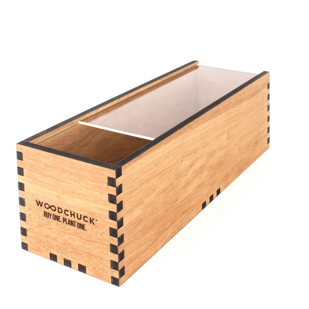 Woodchuck USA Acrylic Wine Box