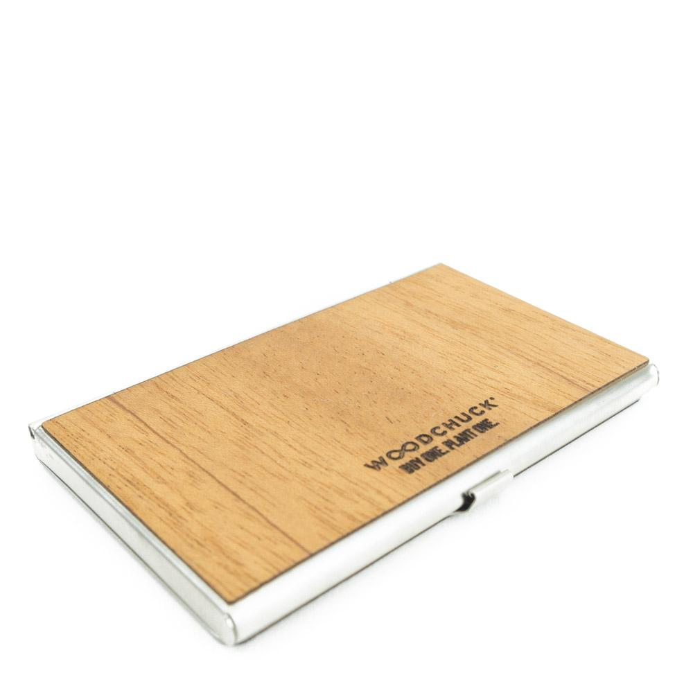 Wood Business Card Holder
