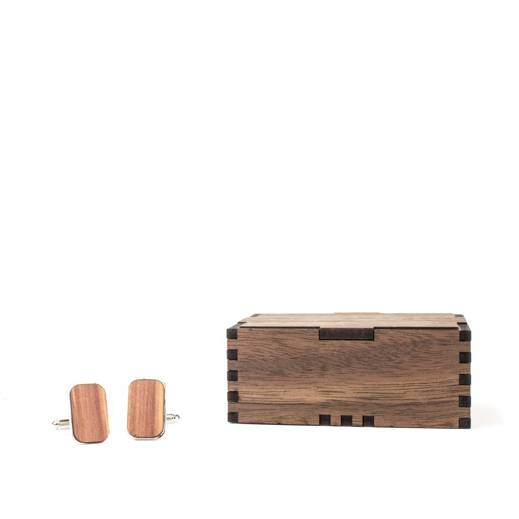 Wood Cufflinks - Woodchuck USA