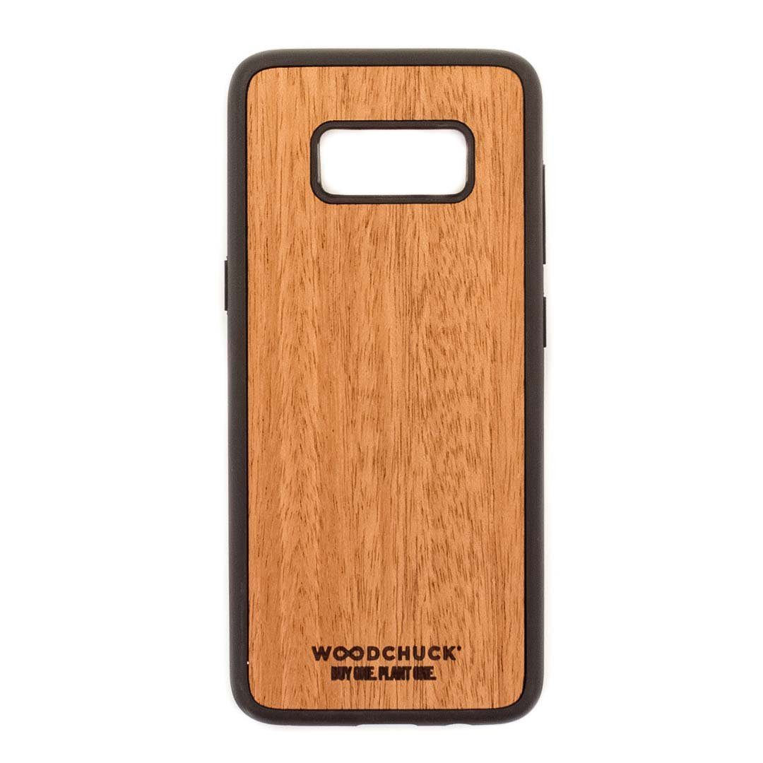 save off 3bd75 93a3c Real Wood Samsung S8 Phone Case
