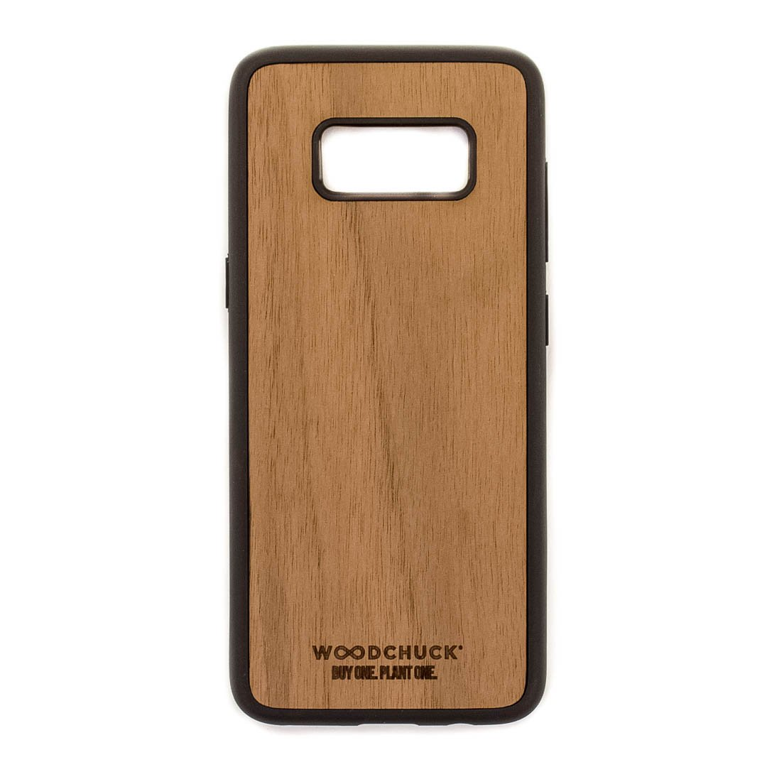 save off 390d7 77024 Real Wood Samsung S8 Phone Case