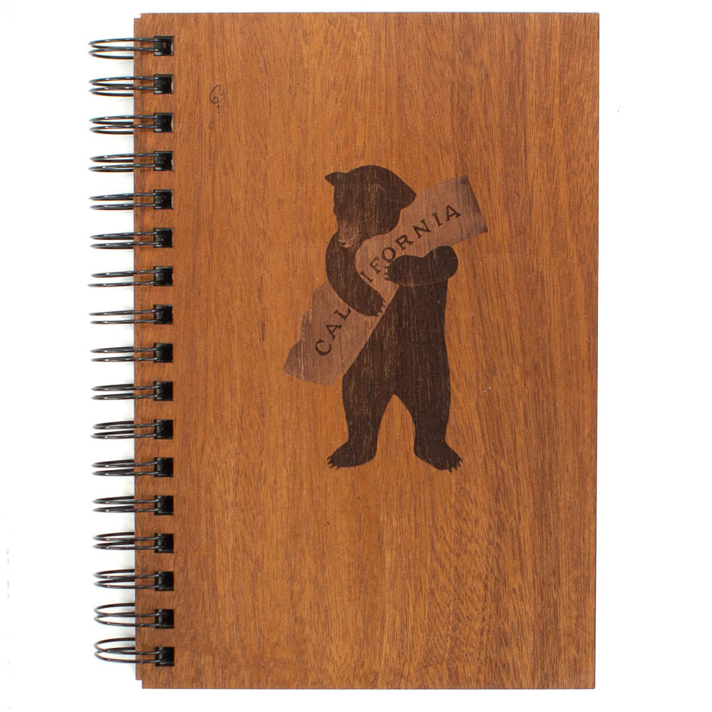 Bear Hug Spiral Journal