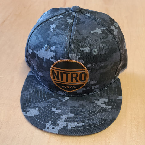 One-off Digi Camo Snapback Black