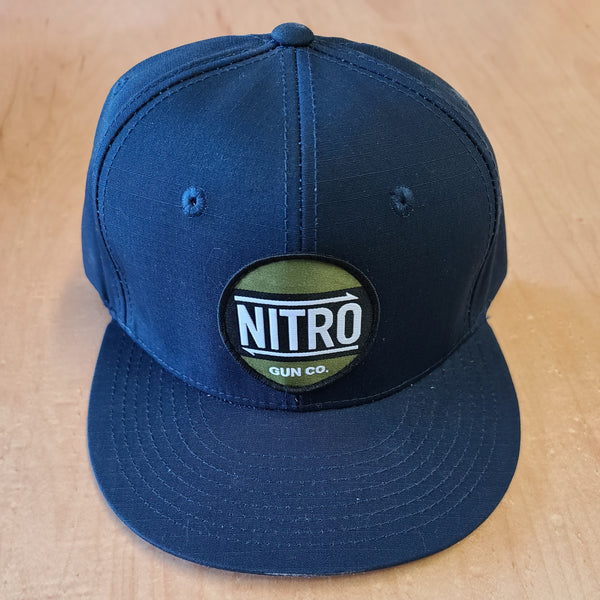 One-off Premium Snapback hat Canvas Blue