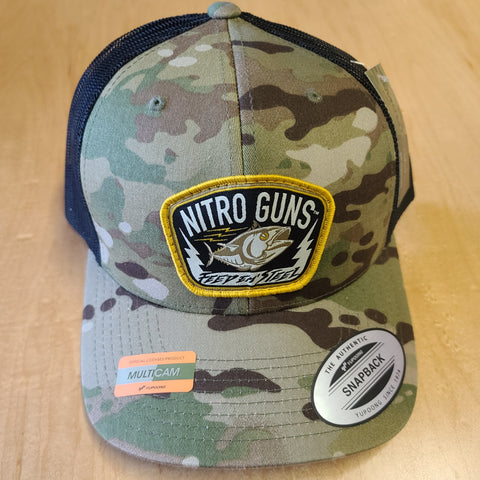 MultiCam Flat Bill Trucker