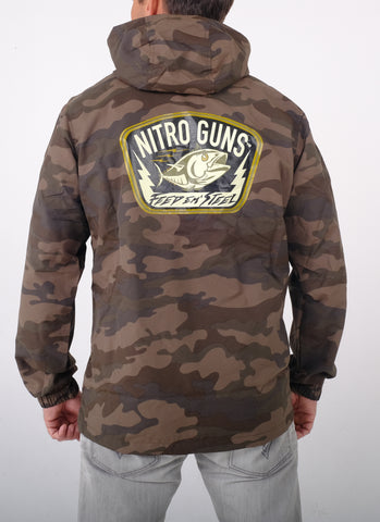 Waterproof Camo Shell Jacket (w Hood)
