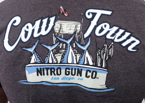Cow Town Grey T Shirt