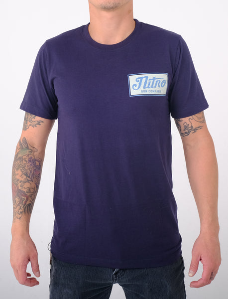 Cow Town Classic Navy T Shirt