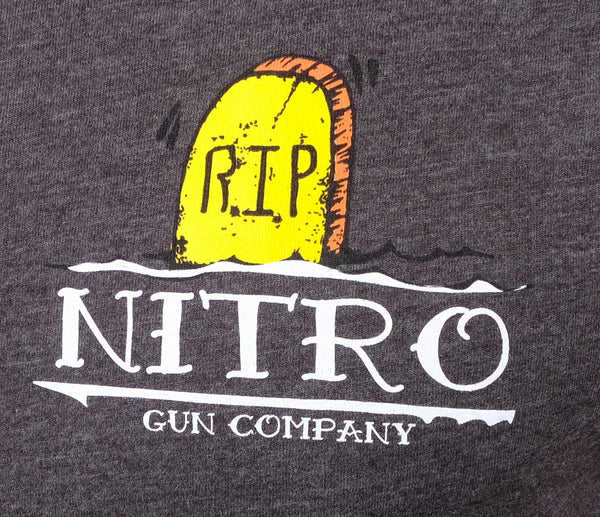 Tombstone!  Carbon Grey T Shirt