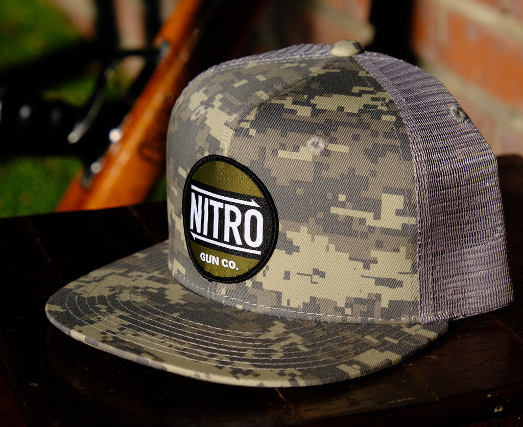 Nitro Classic DigiCam Flat Bill Trucker
