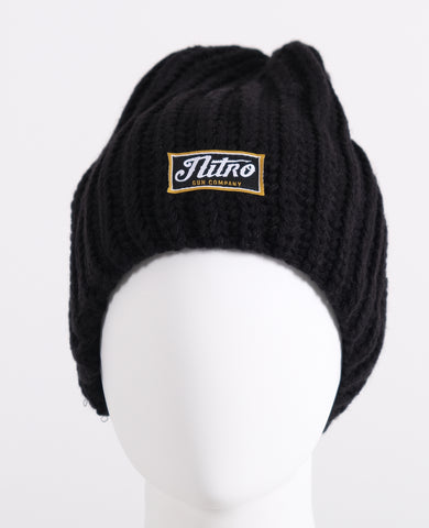 Female Cozy Beanie - Black