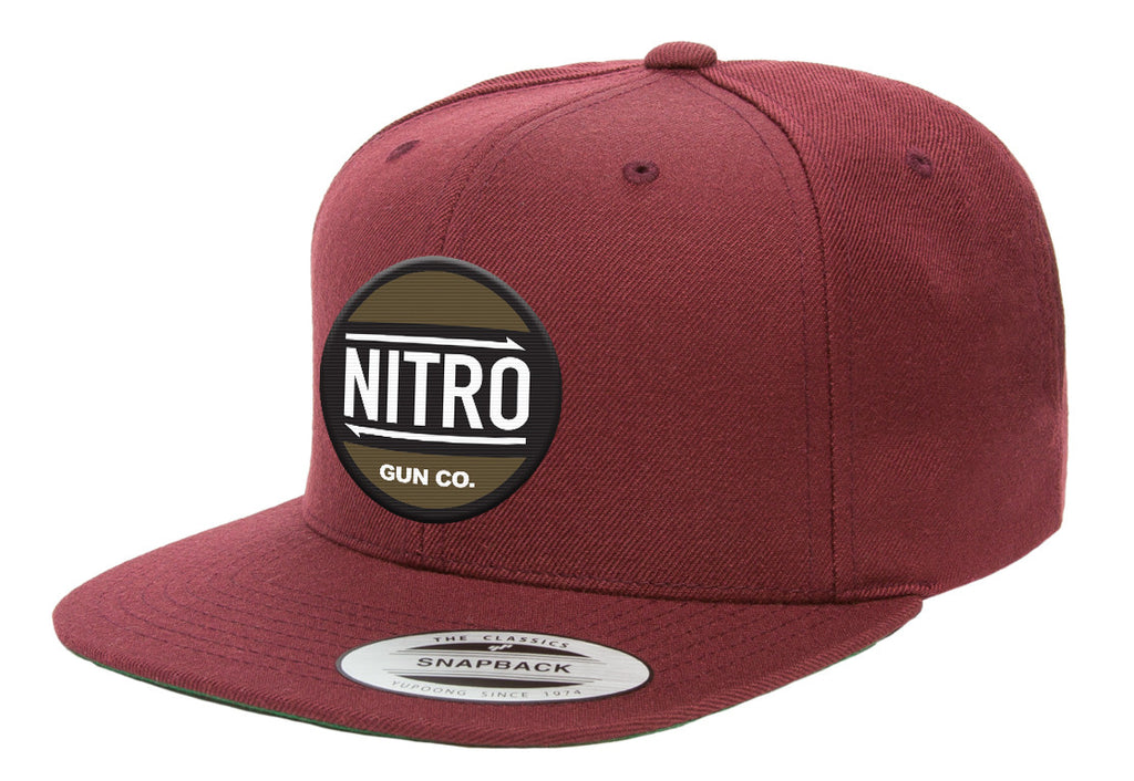 NGC. Maroon Snap Back Hat