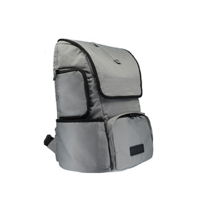 BIEWER BACKPACK DOG CARRIER IN PEARL RIVER GREY - Candy Apple Ltd