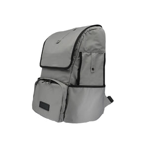 BIEWER BACKPACK CARRIER IN PEARL RIVER GREY - Candy Apple Ltd