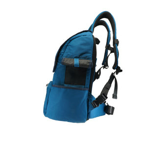 BIEWER BACK PACK CARRIER IN TEAL BLUE - Candy Apple Ltd