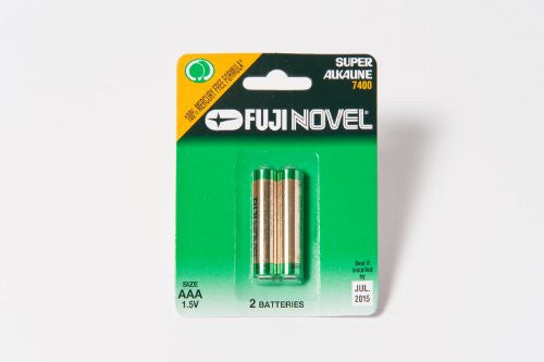 Two (2) AAA Batteries