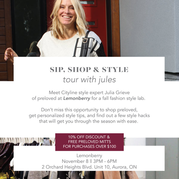 Sip, Shop & Style Event