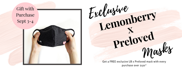 FREE Lemonberry x Preloved Mask