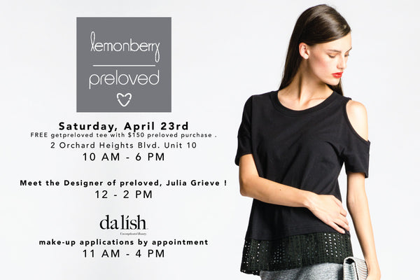 Preloved X Dalish X Lemonberry Event!