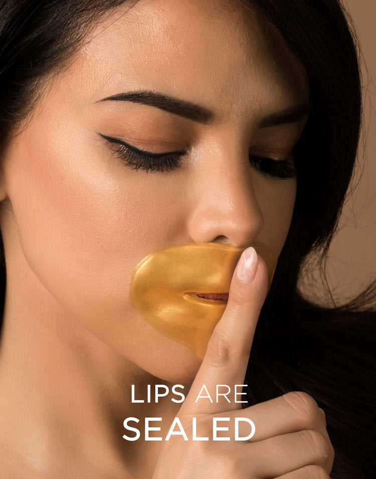 Hadaka 24KT GOLD Collagen LIP Mask