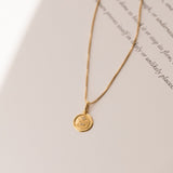 Love Token Necklace Round