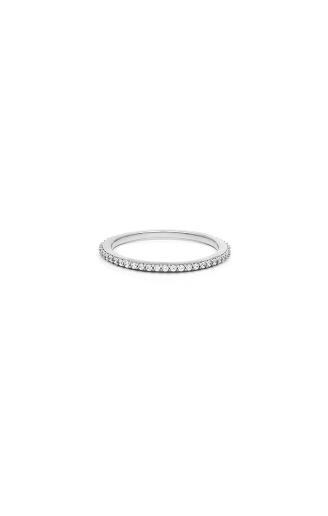 Glint Pave Ring