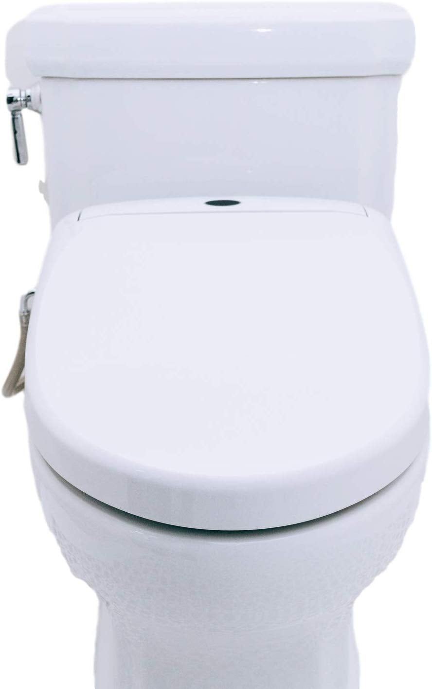 front of installed bidet seat