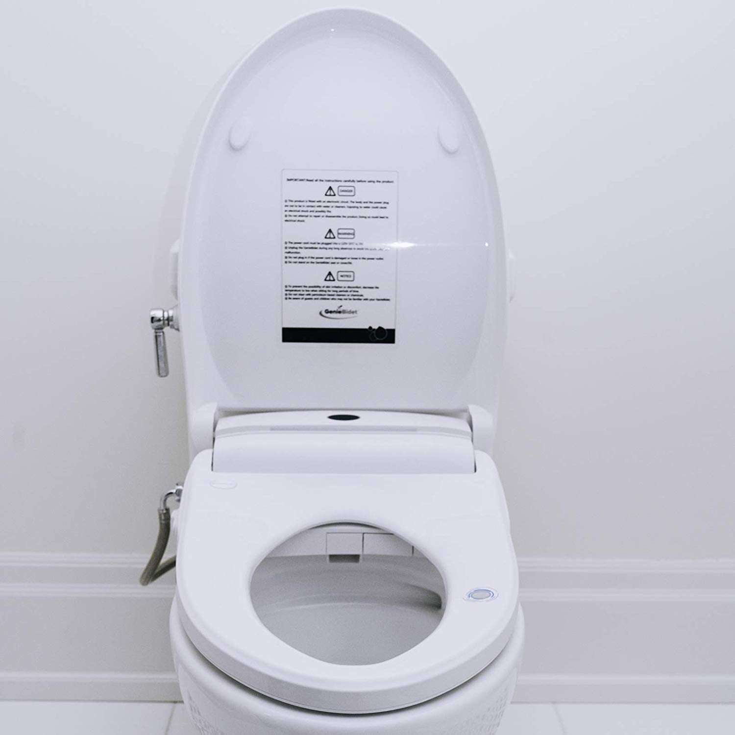Picture of: Electric Heated Bidet Smart Toilet Seat Geniebidet