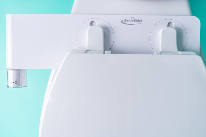 geniebidet toilet attachment top