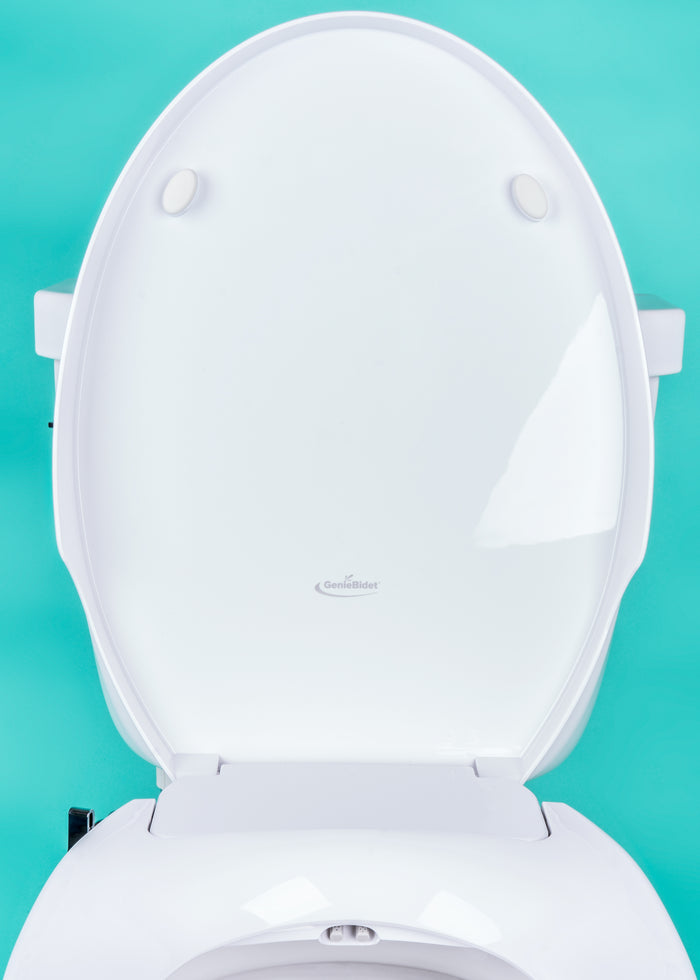 Elongated GenieBidet Seat