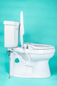 bidet seat for elongated toilet