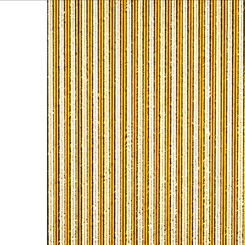 Foil Gold To Go Paper Straws