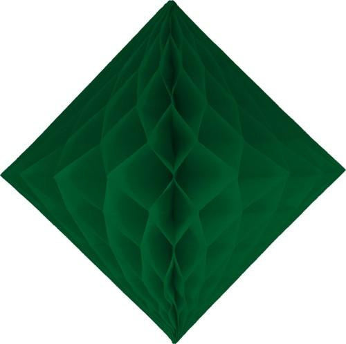 Dark Green Diamond Honeycombs