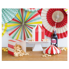 Circus Tent Favor Boxes