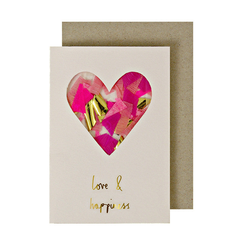 Love & Happiness Gift Enclosure Card