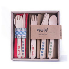 'Jingle Bells' Cutlery Kit