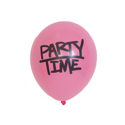 """Party Time"" Balloons"