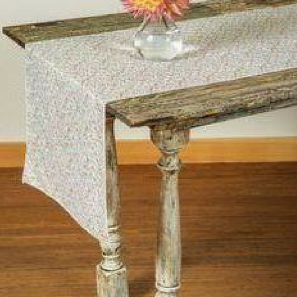 Pink Calico Table Runner
