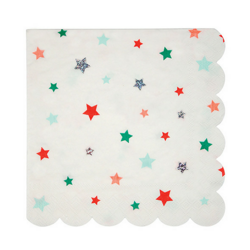 Bright Star Pattern Large Napkins