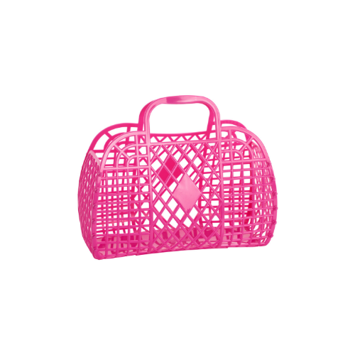 Hot Pink Jelly Handbags