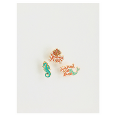 mermaid enamel pins for the mermaid enthusiast