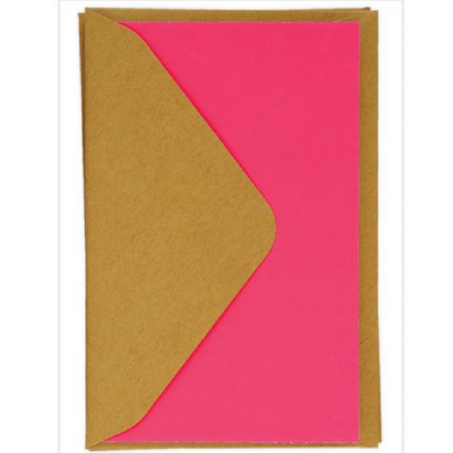 neon pink cards