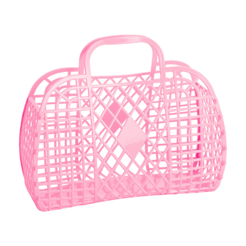 Large Pink Jelly Handbags