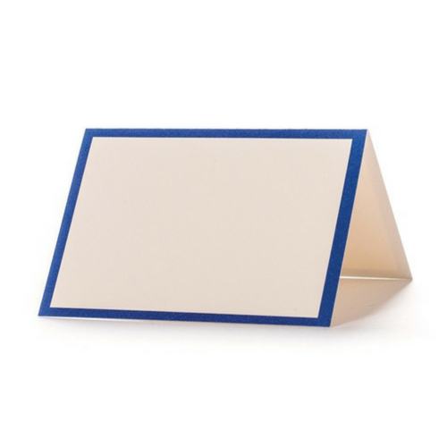 Blue Framed Place Cards