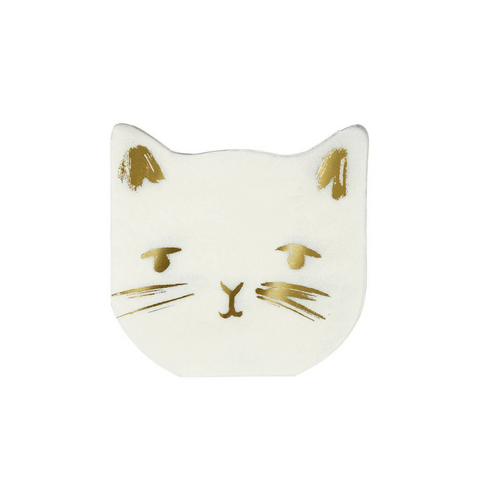 Kitty Cat Napkins Small